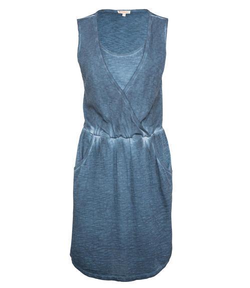 Tmavě modré šaty|M - 3