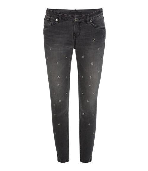 Slim Fit Jeans STO-1709-1680 dark grey used|26 - 3