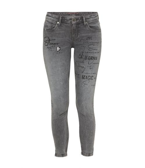 Slim Fit Jeans STO-1801-1149 grey used|26 - 3