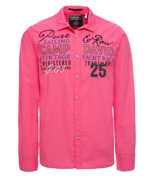Košile CCU-1900-5610 Deep Pink|S - 3
