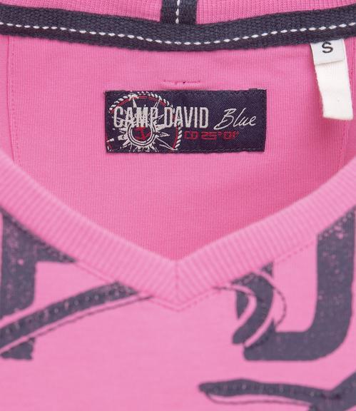 tričko - CCB-1901-3086 deep pink|S - 3