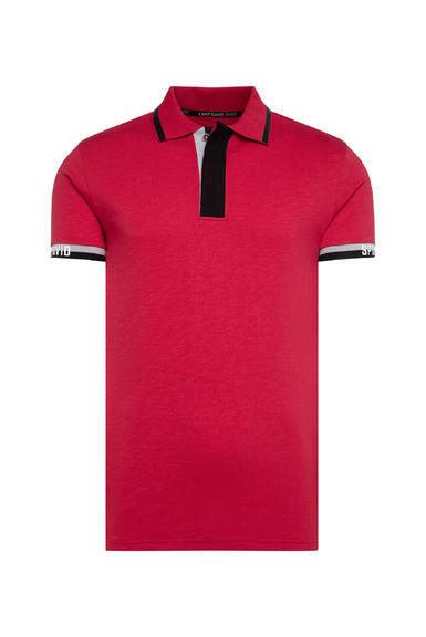 Polotričko CCB-2008-3298 Bright Red|XXL - 3