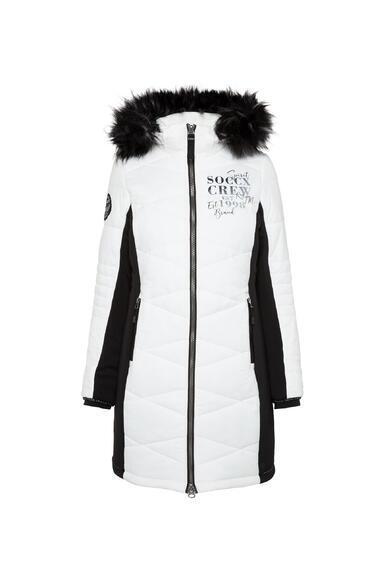 Kabát SP2155-2299-31 ivory|M - 3