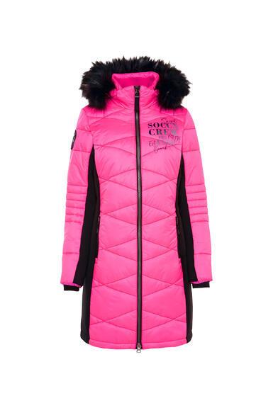 Kabát SP2155-2299-33 knockout pink|XS - 3
