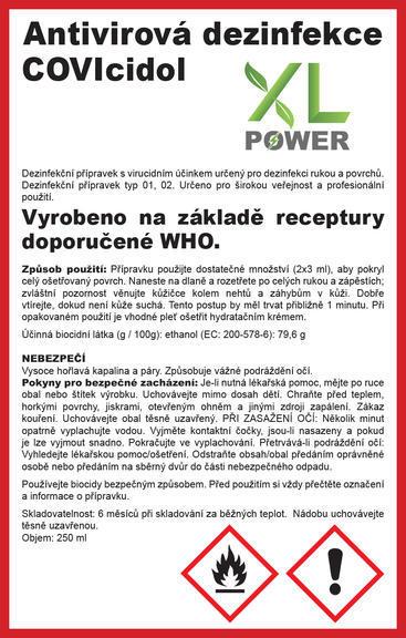 Antivirová dezinfekce  - 2
