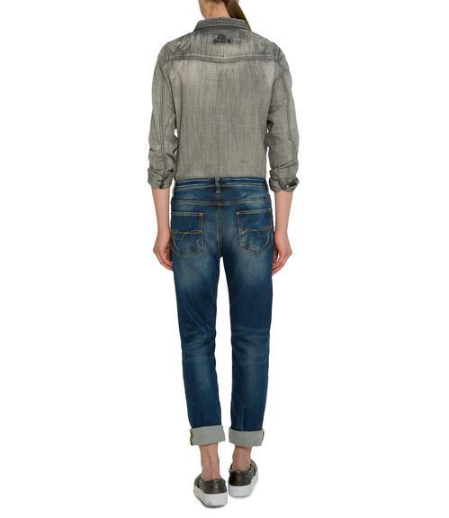 tmavě modré džíny|28 - 4