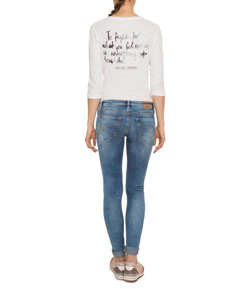 Světle modré strečové džíny|32 - 4