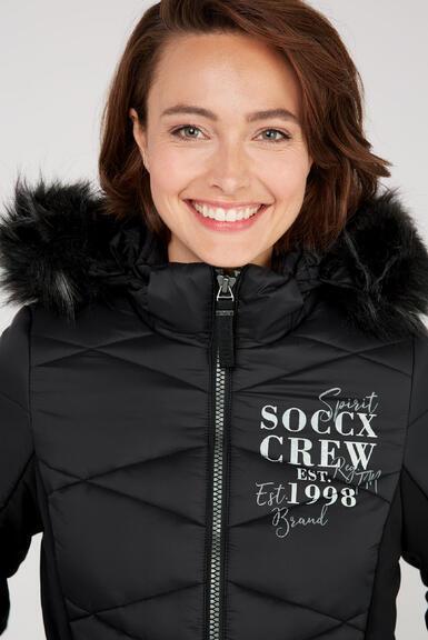 Kabát SP2155-2299-32 black|M - 4
