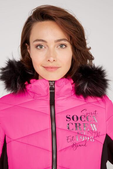 Kabát SP2155-2299-33 knockout pink|XS - 4