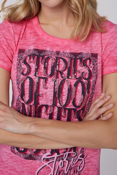 Tričko STO-2004-3842 oriental pink|XXL - 4