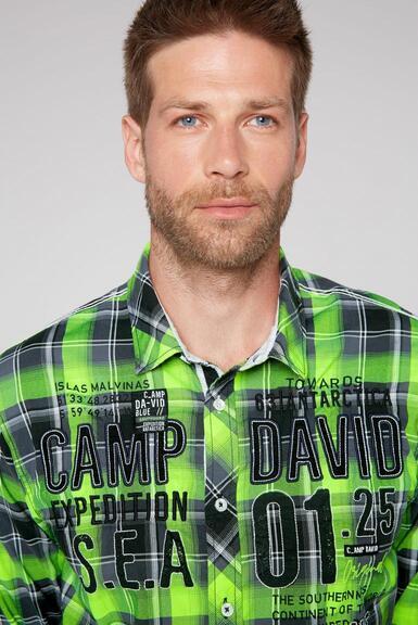 Košile CB2108-5206-21 neon lime|M - 4