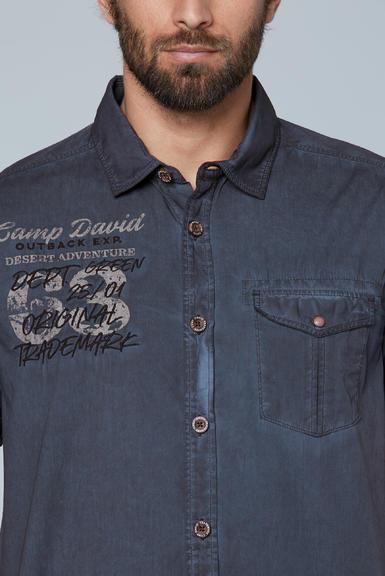 Košile CCG-2003-5713 raw blue|M - 4