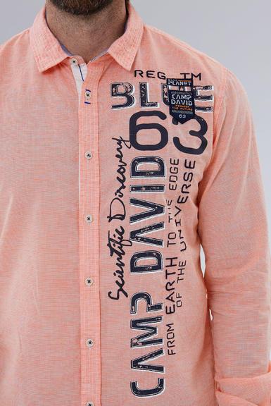 Košile CCB-1908-5009 mission orange|S - 4