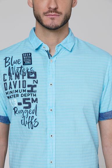 Košile CCB-2004-5678 fresh aqua|S - 4