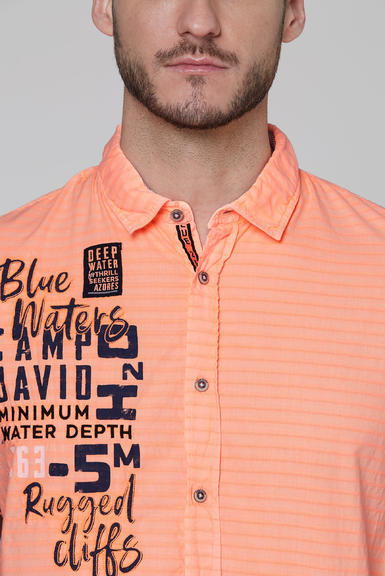 Košile CCB-2004-5678 neon orange|S - 4