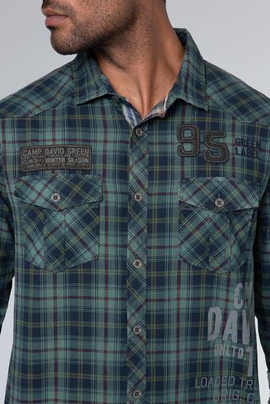 Košile CCG-1910-5082 grey green|S - 4