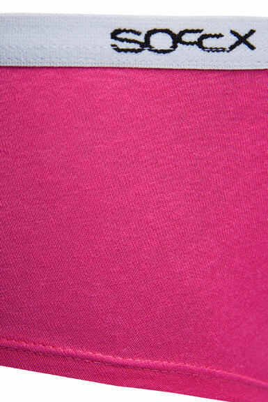 Kalhotky SCU-9999-8894 black-pink|XL - 4