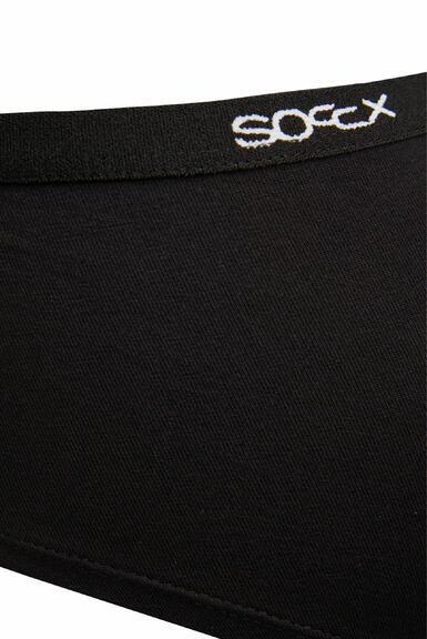 Kalhotky SCU-9999-8894 black-white|L - 4