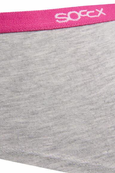 Kalhotky SCU-9999-8894 light grey-pink|XL - 4