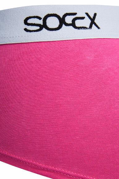 Kalhotky SCU-9999-8895 black-pink|L - 4