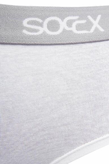 Kalhotky SCU-9999-8895 black-white|L - 4