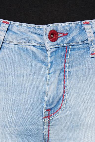 Džínové 3/4 kalhoty SDU-2000-1868 sunny bleached|28 - 4