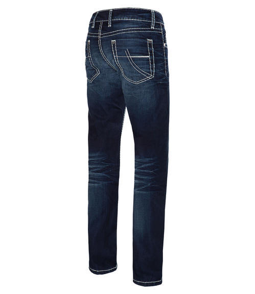 Tmavě modré džíny 999-6406 34 - 4