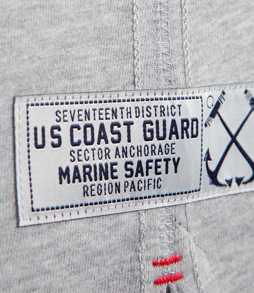 Šedé tričko s dlouhým rukávem a potiskem s nášivkou|XXL - 4