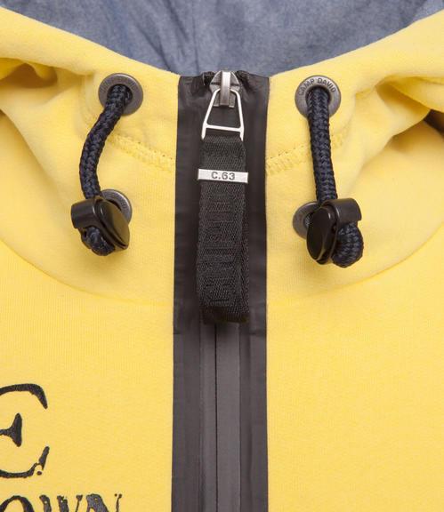 Mikina CCB-1709-3741 industrial yellow|XXXL - 4