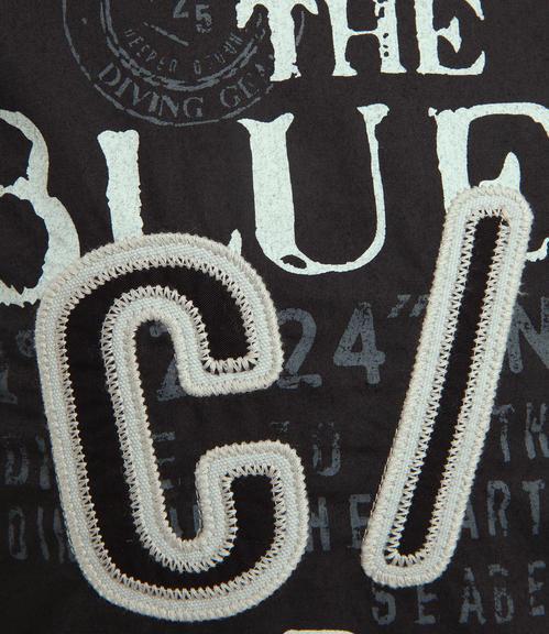 Košile CCB-1709-5753 black|L - 4