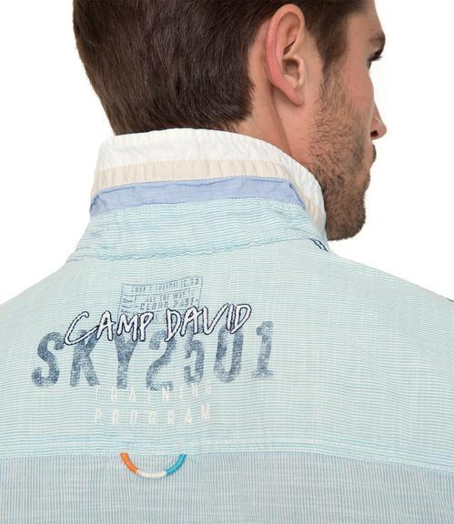 košile CCB-1804-5418 old aqua|XXL - 4