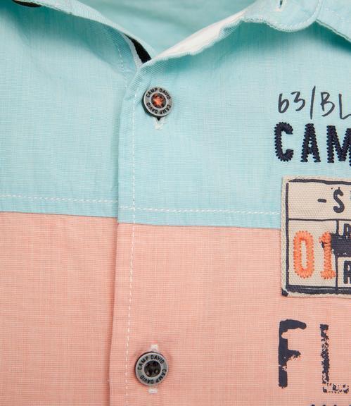 košile 1/2 CCB-1804-5420 old aqua|XXL - 4