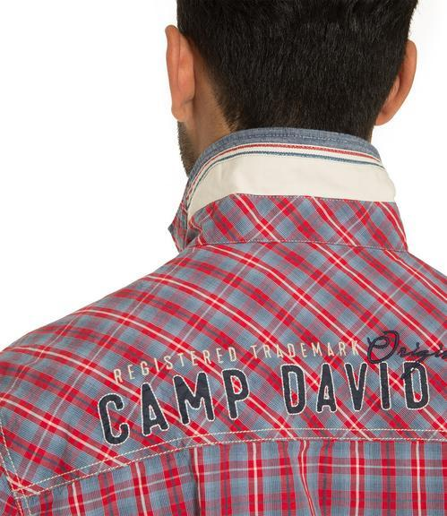 Košile CCB-1809-5777 royal red|M - 4