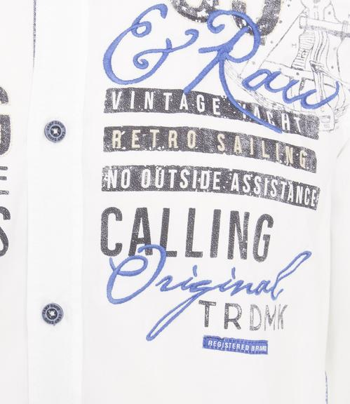 Košile CCB-1901-5098 optic white|L - 4