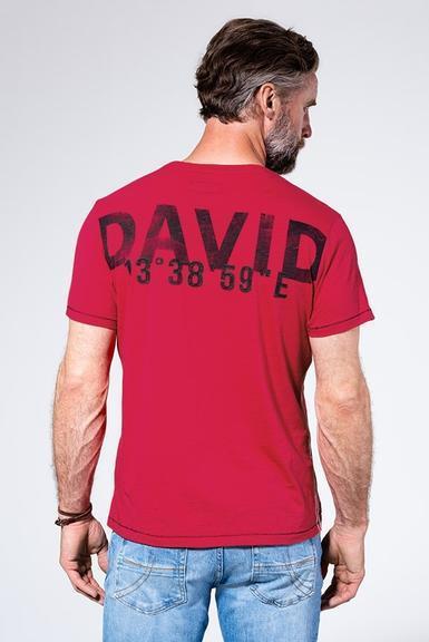 Tričko CCB-1907-3830 Royal Red|S - 4