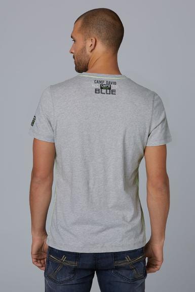Tričko CCB1912-3422 grey melange|XXXL - 4
