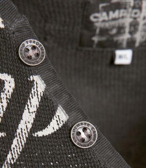 Ležérní černý svetr|M - 4