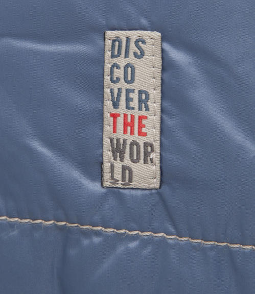 Polstrovaná modrá bunda|XXXL - 4