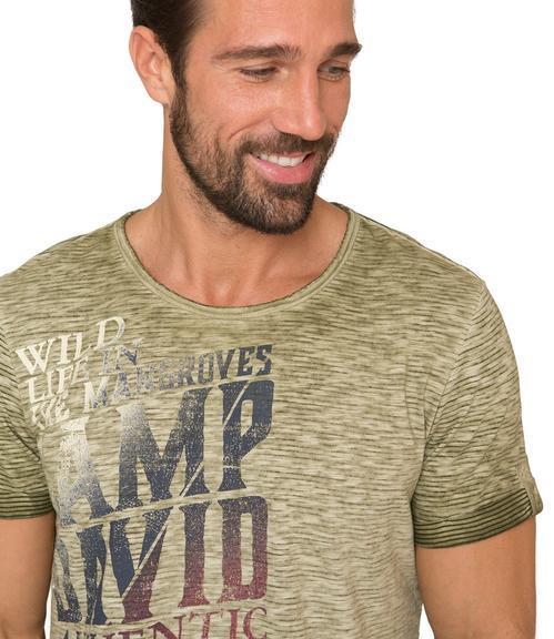 Tričko CCG-1904-3406 wild khaki|M - 4
