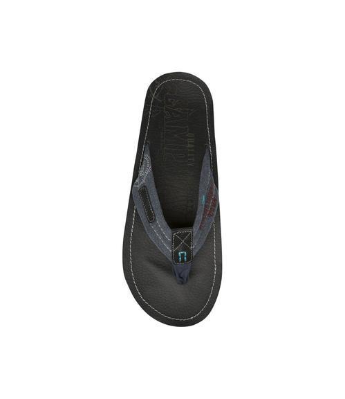 Žabky kožené CCU-1755-8203 black|45 - 4