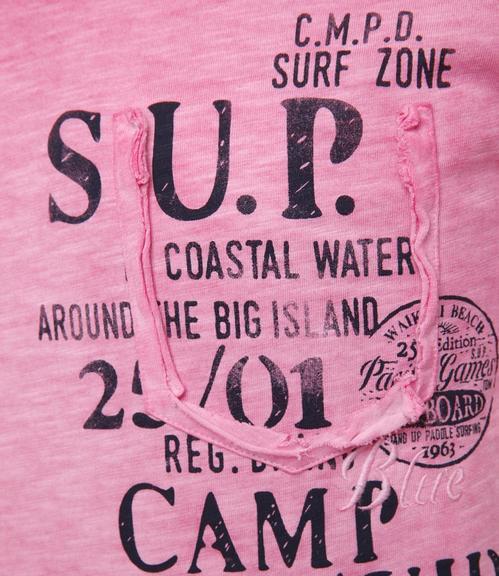 Tričko CCU-1855-3595 deep pink|XXL - 4