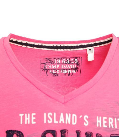 Tričko CCU-1855-3596 deep pink|XXL - 4