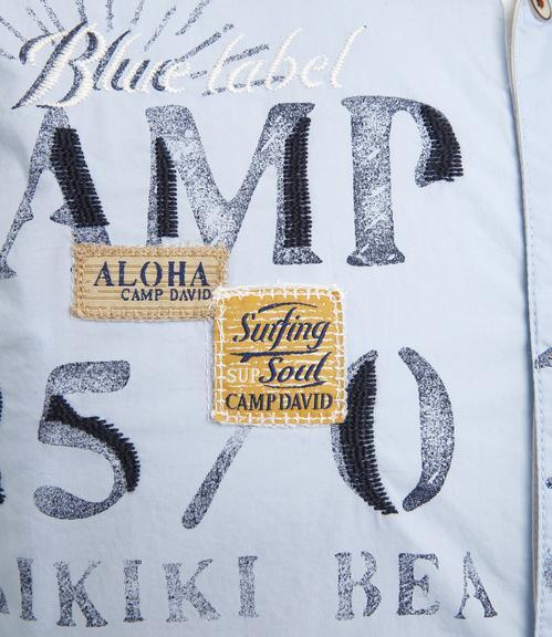 Košile Regular Fit CCU-1855-5598 summer blue|M - 4