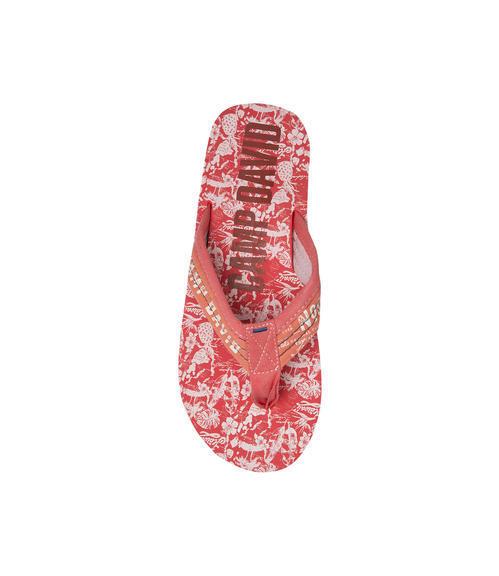 Žabky CCU-1755-8202 red|44 - 4