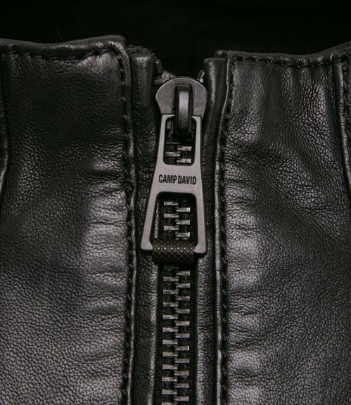 Kožená bunda CHS-1801-2016 black|XXL - 4