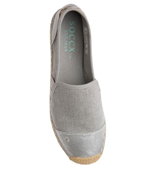 Espadrilky SCU-1855-8516 light grey|41 - 4