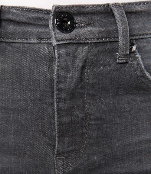 Džíny SDU-1855-1307 grey cut vintage|26 - 4