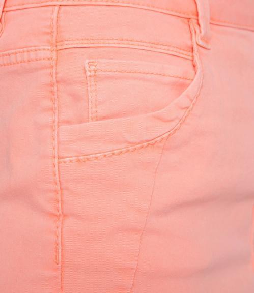 Džínová sukně SDU-1900-7392 intense orange S - 4