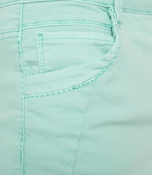 Džínová sukně SDU-1900-7392 soft green S - 4