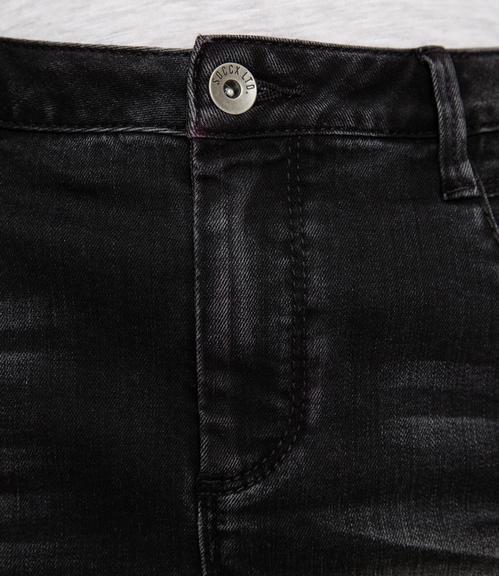 Džínová sukně SDU-1900-7399 black used S - 4